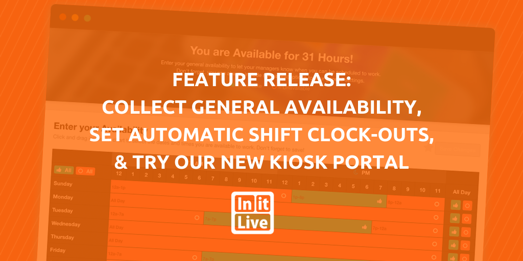 InitLive General Availability
