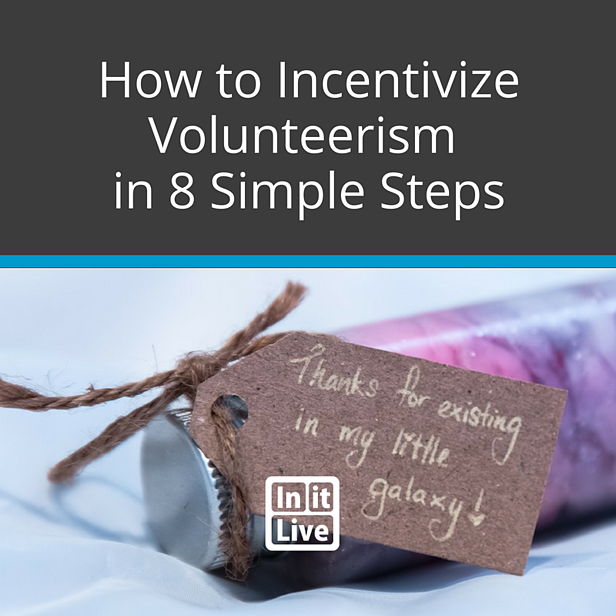 Incentivize-volunteers