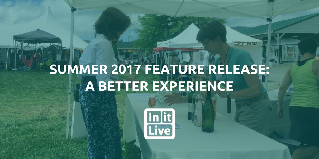 2017 InitLive Summer Updates