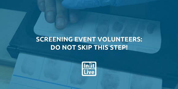 Screening Event Volunteers: Do NOT Skip This Step!