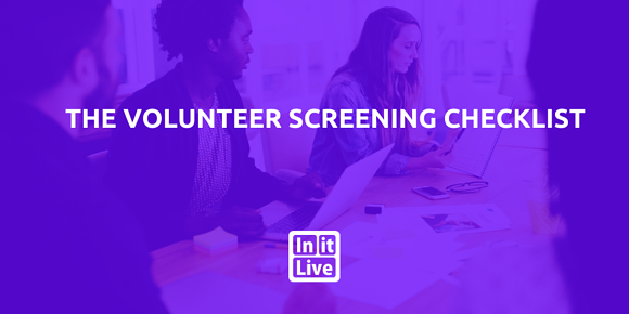 The Volunteer Screening Checklist