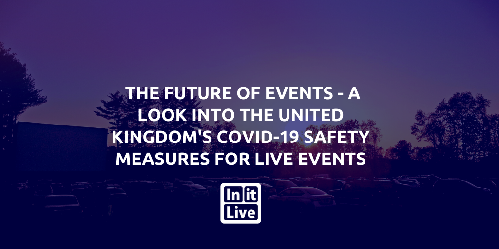 The Future Of Events - A Look Into The United Kingdom's COVID-19 Safety Measures For Live Events