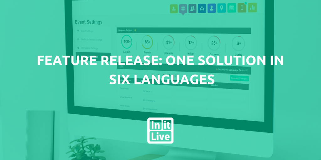 Feature Release: One Solution In Six Languages