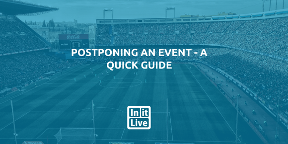 Postponing An Event - A Quick Guide