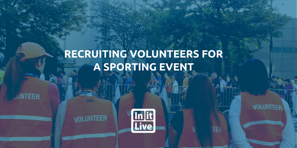 Recruiting Volunteers For A Sporting Event
