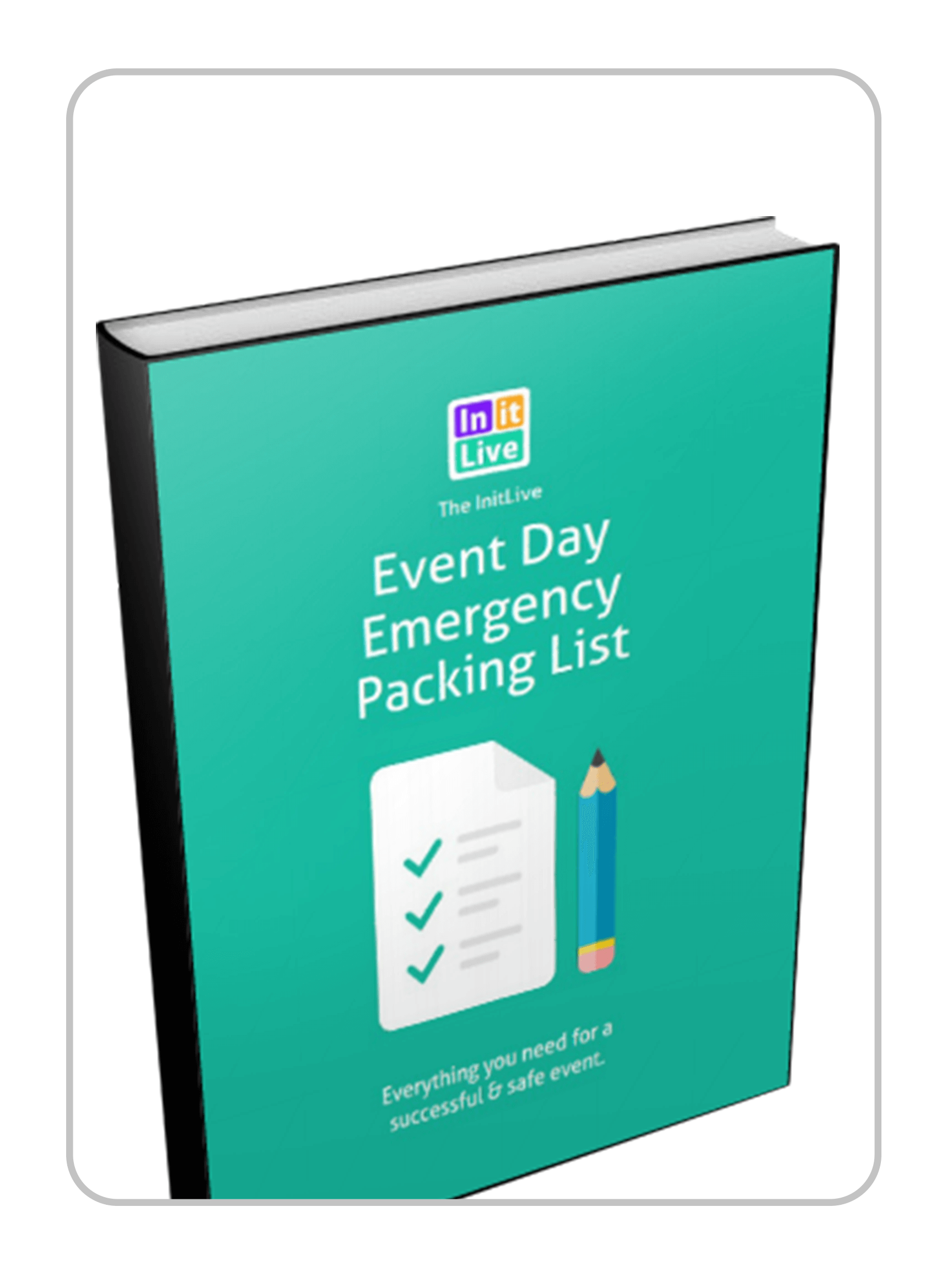 Event Day Emergency Packing List