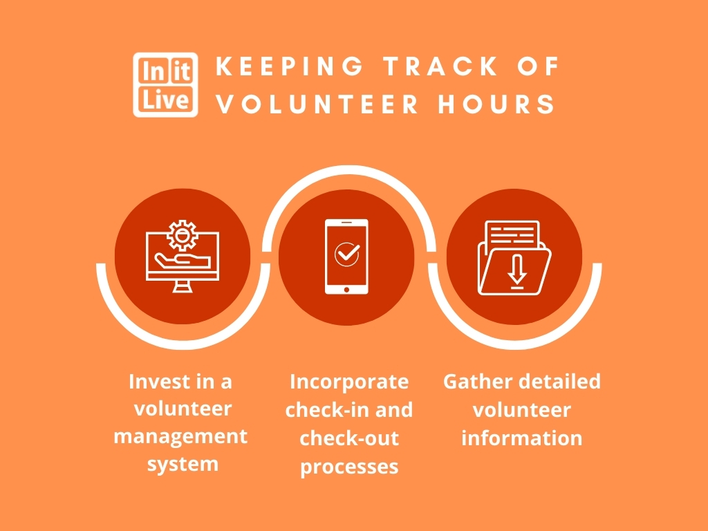 how to keep track of volunteer hours