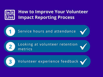 How to Improve Your Volunteer Impact Reporting Process