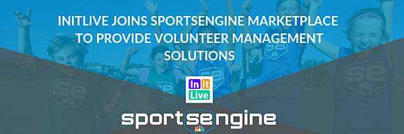 InitLive Joins SportsEngine Marketplace to Provide Volunteer Management Solutions