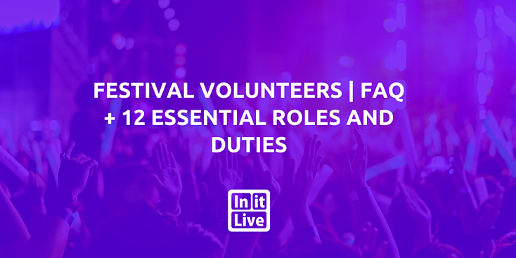 Learn more about festival volunteers with these frequently asked questions and key roles.