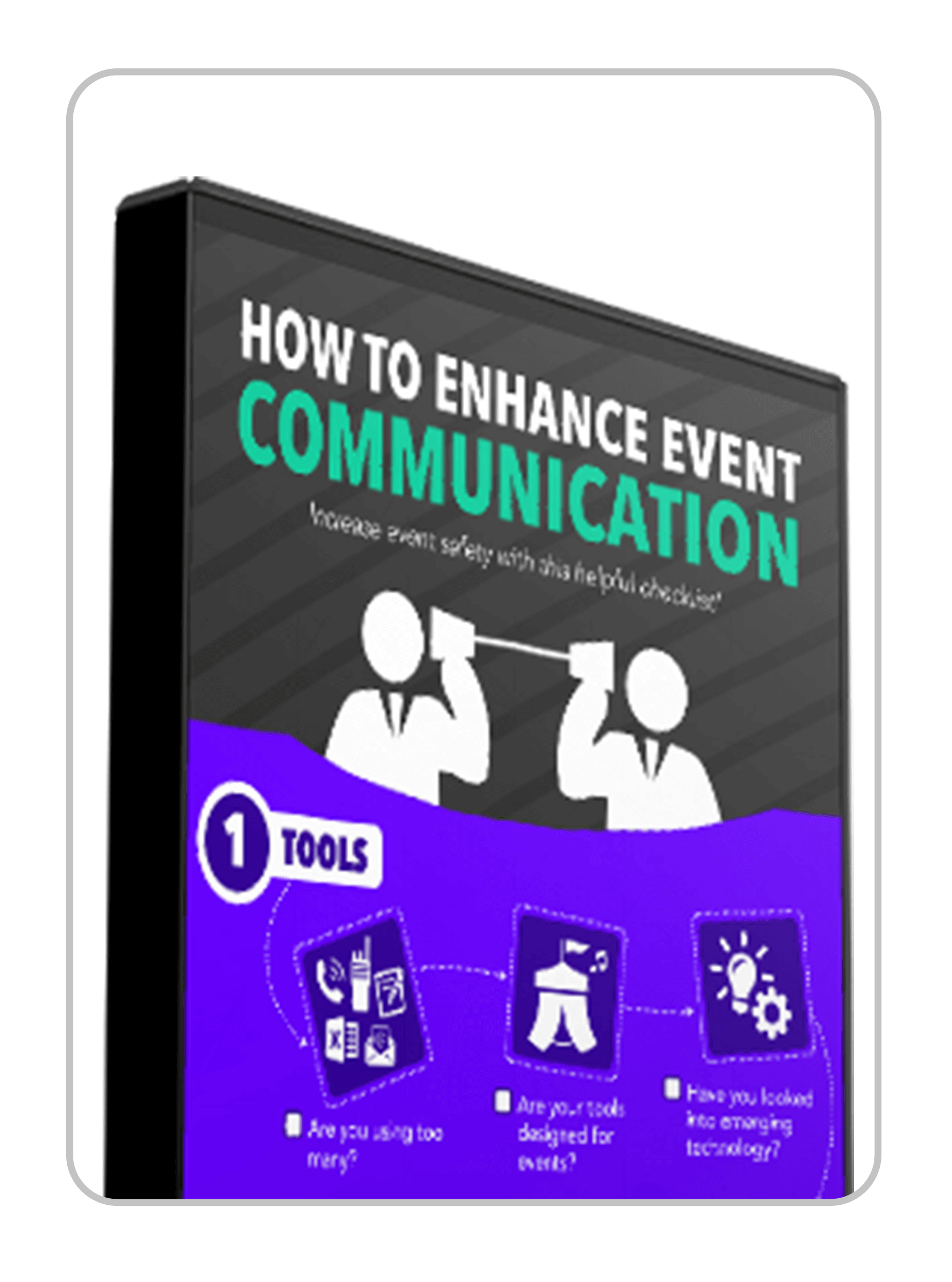 Infographic Event Safety Communication