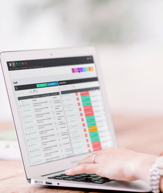 InitLive's event staff scheduler will help keep event data organized.