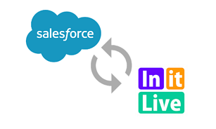 Using Salesforce for volunteer management is easy when you integrate it with InitLive.