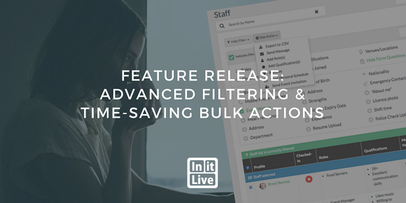 Feature Release: Advanced Filtering and Time-Saving Bulk Actions
