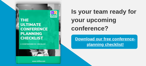 ree conference-planning checklist!