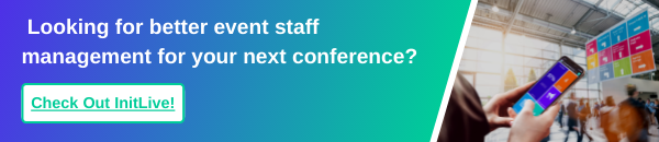 Conference Event Staff Management Software https://www.initlive.com/event-watch-demo-0
