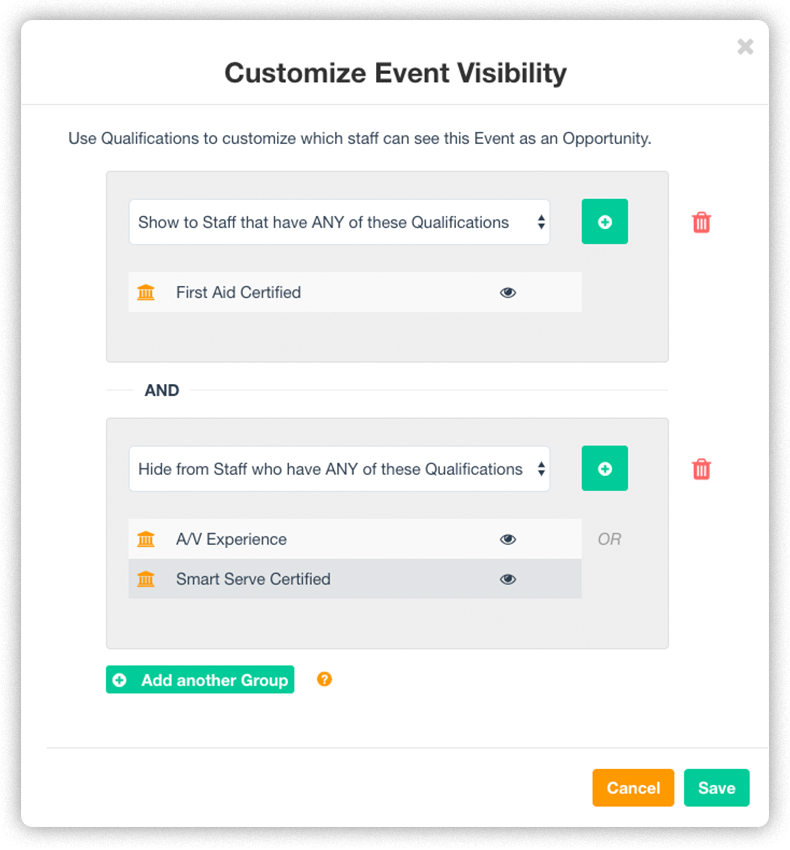 event-visibility